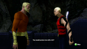 Aqualad learns his true lineage