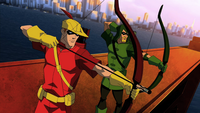 Speedy and Green Arrow