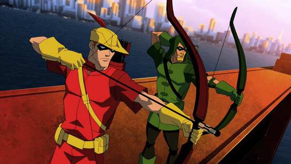 File:Speedy and Green Arrow.png