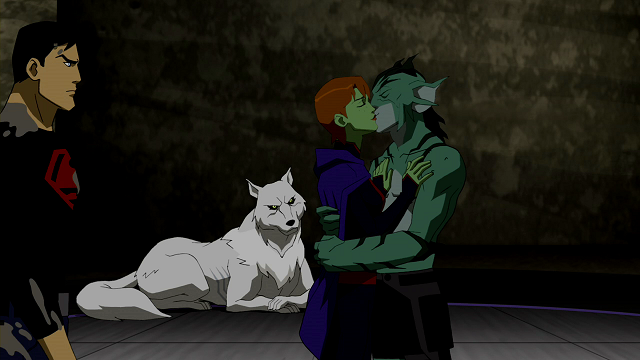 Lagoon Boy and Miss Martian | Young Justice Wiki | FANDOM powered ...