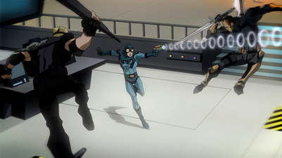 File:Ted Kord fighting Sportsmaster and Deathstroke.png