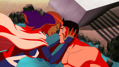 File:Miss Martian restores Superboy's memories.png