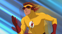 Kid Flash Super Speed