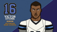 Victor Stone football star