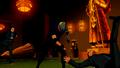 Sportsmaster fights guards.png