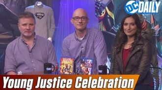 """Young Justice Celebration"" with Greg Weisman, Brandon Vietti and Zehra Fazal on DC Daily"