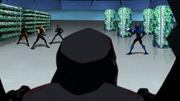 Alpha Squad fights Black Beetle