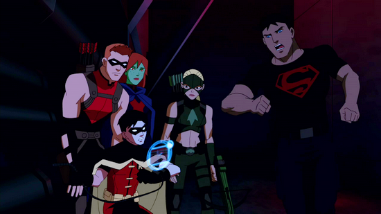 File:Superboy charges.png