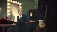 Godfrey scolds Luthor