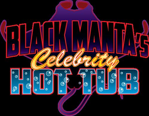 File:Black Manta's Celebrity Hot Tub logo.png