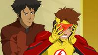 Kid Flash is fine