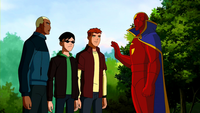 Red Tornado halts the Team