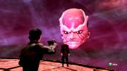 Psimon unleashes a psychic attack
