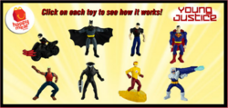 First wave McDonald YJ toys