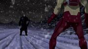 Vandal confronts Kid Flash