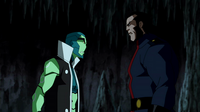 The ambassador and Savage exchange threats