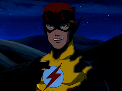 Kid Flash stealth suit