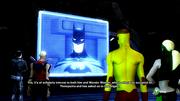 Batman calls in