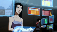 Zatanna and Robin read news