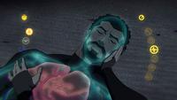 Black Lightning unconscious