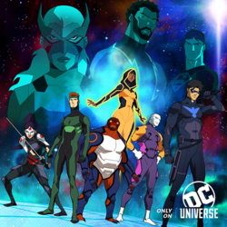 Young Justice Outsiders promo art