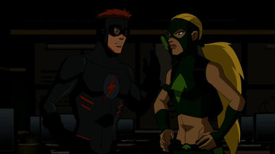 File:Artemis and Kid Flash argue.png