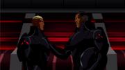 Black Manta praises Kaldur'ahm