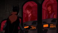 Batgirl discovers runaways