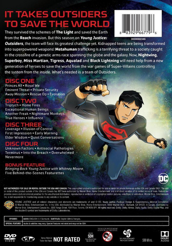 Back DVD cover