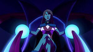 Miss Martian in Bio-Ship