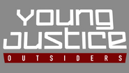 Title card of Young Justice- Outsiders