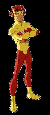 File:Kid Flash model.png