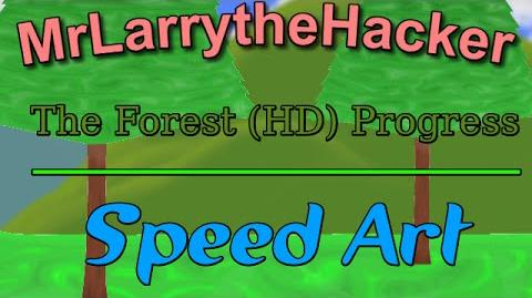 Happy Wheels Speed Art- Work on The Forest (HD) Ep. 13