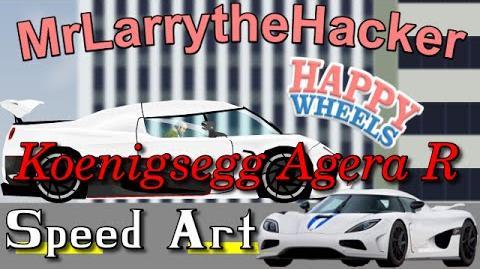 Happy Wheels Speed Drawings- Koenigsegg Agera R Ep.12