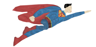 Drawn Superman