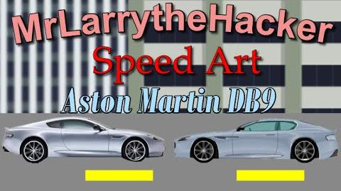 Lwpeterson50/New Speed Art Video- Aston Martin DB9!