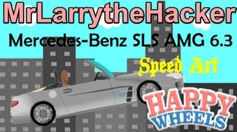 Happy Wheels Speed Drawings- Mercedes-Benz SLS AMG Roadster 6.3