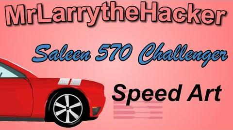 Happy Wheels Speed Drawings- Saleen 570 Challenger Ep.14