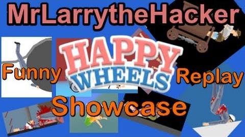 Happy Wheels- A Funny Replay Showcase