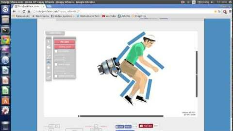 How to make a jetpack- Happy Wheels tutorial (no voice)
