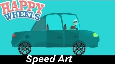 Happy Wheels Speed Drawings The Haunted Factory Car Reuploaded due to copyright EP.4