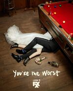 You're the Worst Season 5 Poster 1