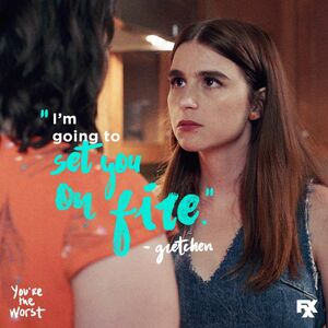 Season 4 Quote I'm Going To Set You On Fire