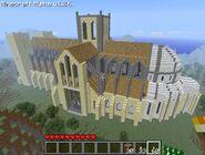 Minecraft cathedral by pdurdin-d34tm63