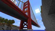 Golden gate bridge minecraft by schattenw0lf-d3byz6n