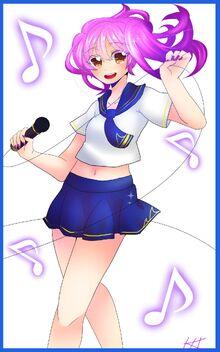 Yoyo - illustrated by Ikieons
