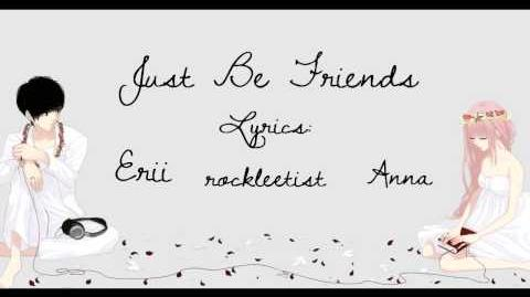 Just Be Friends ll piano.ver【Anna & Erii】(English)
