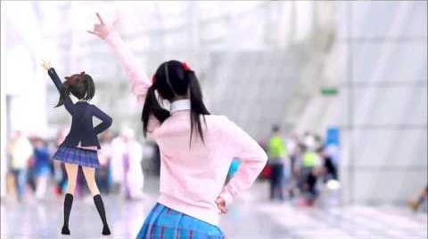 【MMD WIP】Nico Puri Joshi Dou【Motion Trace】