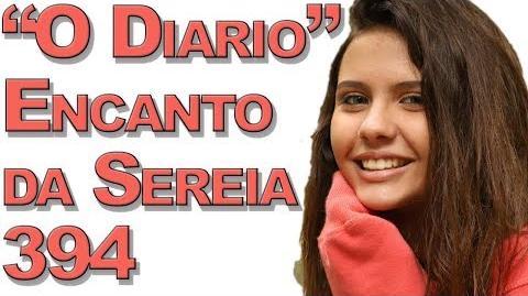 """""""O Diario"""" Encanto da Sereia 394"""