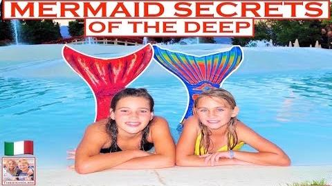Mermaid Secrets of The Deep - S9E2 - REAL MERMAIDS 🇮🇹